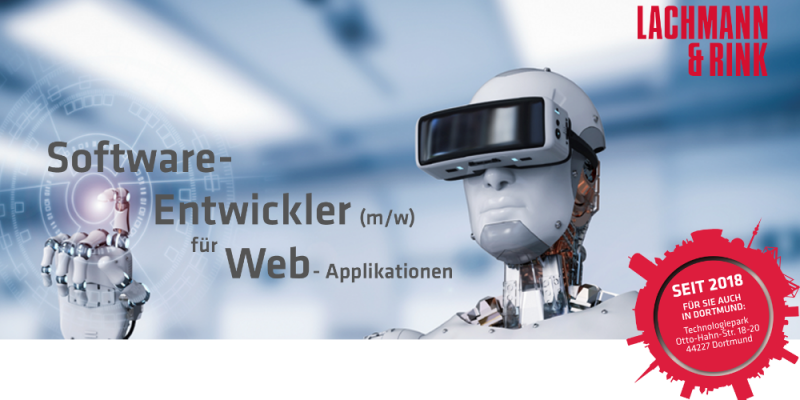 Software-Entwickler für Web-Applikationen (m/w/d)