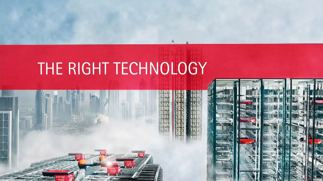Grow Smart with Swisslog: Take Your Warehouse to New Heights
